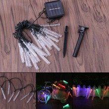 Christmas Lights Outdoor Waterproof 20 LED Solar String Lights Garden Light Lighting for Home Wedding Party Christmas Decoration(China)