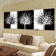 Canvas Art Modern 3 piece Poster Wall Modular Painting Beautiful Oil Paintings Pictures For Living Room HD Print Picture Bilder(China)