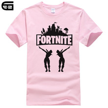 Buy Fortnite Men T Shirt 2018 Summer Cotton Tops Tee Harajuku Hip Hop Hombre Game Fornite T Shirts Men's Fortnite Battle Royale T198 for $5.84 in AliExpress store