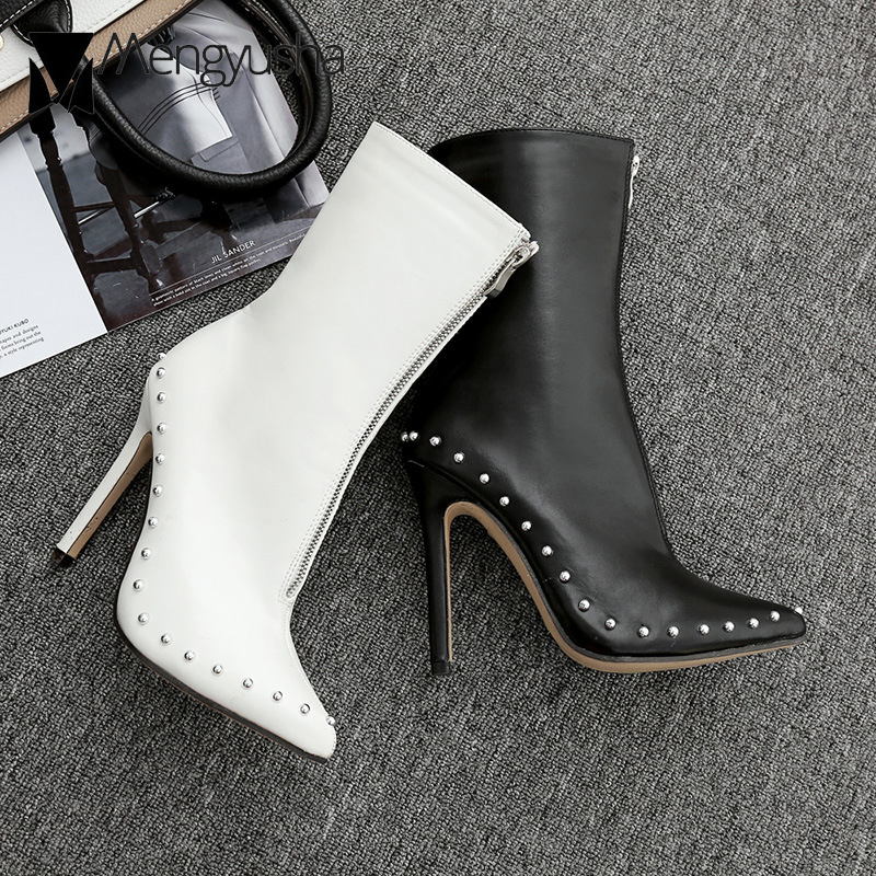 Womens Ladies Low Heel Chelsea Riding Biker Ankle Boots Shoes Size Studded CROC