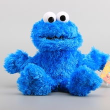 "Sesame Street Muppet Dolls Mookie Monster Plush Hand Puppet  Stuffed Dolls 13"" 32 CM"