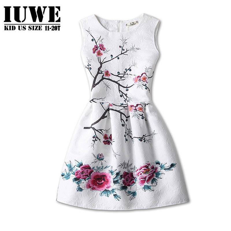 Flower Summer Girl Dress for Girls of 13 Years old Christmas Costumes for Kids Dresses for Girls Wedding Childrens Dresses 14Y<br><br>Aliexpress