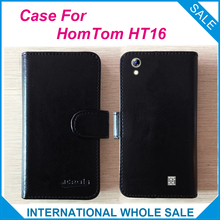 Hot! 2017 HT16 HomTom Case, 6 Colors Leather Exclusive Cover Case tracking number - lin-go's store