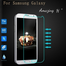 For Samsung Galaxy S3 S4 S5 S6 Grand Duos i9082 S7562 Core 2 G355H Win A3 A5 A510 J5 Case Tempered Glass Screen Protector