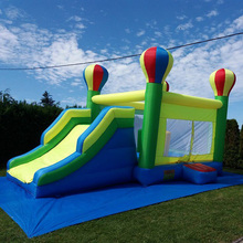 Big Inflatable Castle Jumping Bouncer House Inflatable Bouncer Bouncy Castle with Slide Outdoor Inflatables for Kids