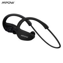 Mpow MBH6 Cheetah 4.1 Bluetooth Headset Headphones Wireless Headphone Microphone AptX Sport Earphone for iPhone Android Phone(China)