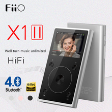 (3USD Coupon) FiiO X1 2nd Fx1221 X1II X1K Generation X1 upgrade DAC Loseless MP3 Bluetooth 4.0 Hifi Portable Music Player MP3(China)