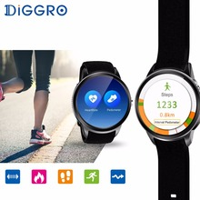 Diggro DI01 Smart Watch 1GB+16GB Android 5.1 MTK6580 Heart Rate Monitor Support Wifi 3G GPS SIM Card Camera Business Smartwatch(China)