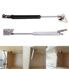 Top quality Practical Furniture Hinge Kitchen Cabinet Door Lift Pneumatic Support Hydraulic Gas Spring Stay Hold Free Shipping(China)