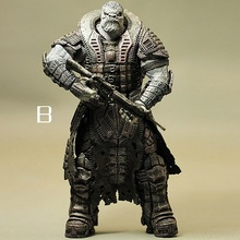 Animation Garage Kid Gears of War Model Toys: NECA Action Figure PVC Dolls Grey Orc&Monster Warrior Model Excellent Gift