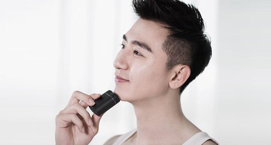 Xiaomi ZHIBAI Mini Electric Shaver Washing Razor Japan Steel German Technical Moto Waterproof Rechargeable WetDry Shaving IPX7-22