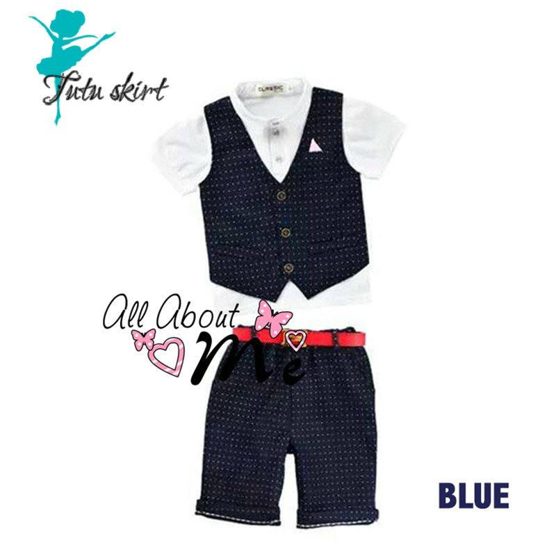New Autumn Kids Clothes Boys Clothing Sets Baby Boy Clothes Set Toddler Boys Clothing Plaid Vest Wedding Party Dresses<br><br>Aliexpress