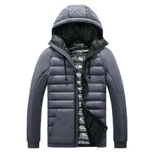 BINGHEDIDAI Winter Men Jacket Slim Down Jacket Men's Jacket Thermal Comfort Winter Coat Men's Down Jacket Male Windproof Parka