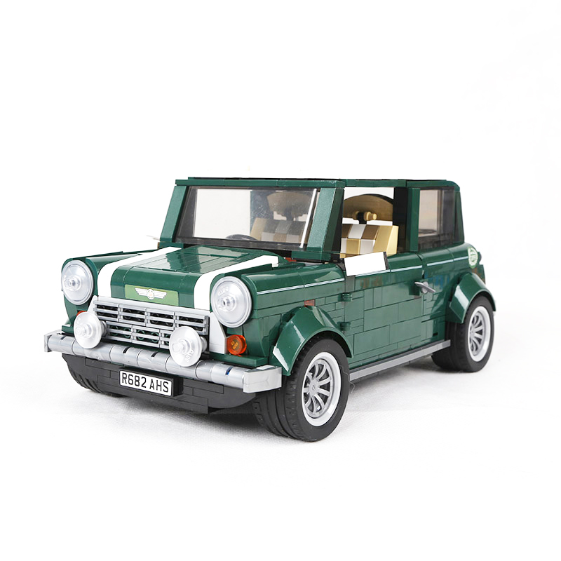 1077 Pcs Building Blocks Yile 002 Mini Cooper Model Building Car For Kids Bricks For Gift Compatible With lego 10242 21002 10568<br>