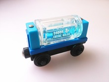 RARE new style wooden Thomas and friend train Chinldren child kids plastic toys Liquid carriage
