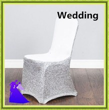 200pcs wedding silver and gold chair cover wedding cheap for hotel free shipping(China)