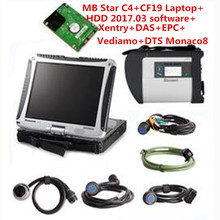 Top-rated CF19+MB Star C4 SD Connect+2017.07v HDD Vediamo/DTS/Xentry Diagnostics System Compact For Mercedes Star Diagnosis Tool