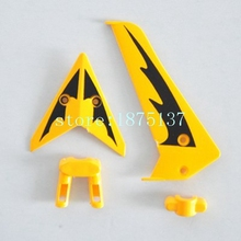 Free shipping Syma S107 S107G parts Tail decoration for syma S107G RC Helicopter spare parts Tail decorative set