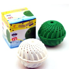 Big Ball Fashion Magic Eco-Friendly Molecules Cleaning Cleaner Laundry Washing Ball No Soap Preventing Cleaning Tool(China)