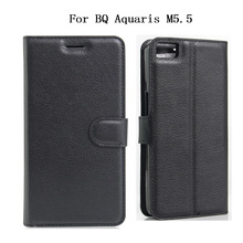 Buy BQ Aquaris M5.5 Case 2016 Luxury PU Leather Back Cover Card Slots Protective Skin Flip Mobile Phone Bag BQ Aquaris M5.5 for $3.19 in AliExpress store