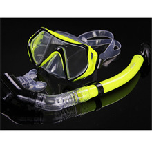 New Scuba Diving mask snorkel silicone professional goggles swimming snorkeling glasses aqualung mergulho natacion Diving masks