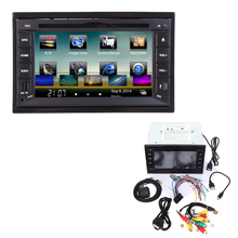 "6.2""3G WiFi  2 Din Car DVD/USB/SD Player Bluetooth GPS Radio HD Car Entertainment System for Toyota Reiz Hyundai"