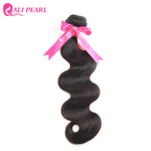 AliPearl 100% Human Hair Bundles Brazilian Body Wave Hair Extensions Natural Black Weave  Remy Hair 1 Piece only 8-34 inches