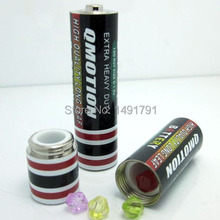 AA Battery secret box props for real life room escape mysterious door game props
