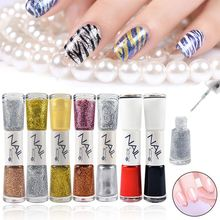 1Pcs Dual-ended 14ml Liner Nail Art Polish Pen Eye-catching Line Brush Varnish Nails Drawing Beautiful DIY Manicure Tool