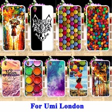 Cell Phone Cases For Umi London Smartphone MT6580 Case Covers Paintbox Chocolate Candies Housing Bags Silicon Fundas Skin Shell