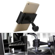 360 Rotatable Tablet Holder vehicle headrest Phone Car Seat back Mount Stand For Samsung Galaxy Tab S S2 S3 A 8.0 9.7 10.1 New(China)