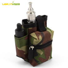 Coil Father Pbag E cig Portable Carry Bag Vapor Pocket Electronic Cigarette Vaping Case Double Deck for Rda Box Battery