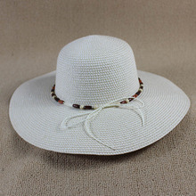 Summer Paper Braid Straw Hats For Women Sun Beach Caps Female Wide Brim Ladies Floppy Hats SDDS-031