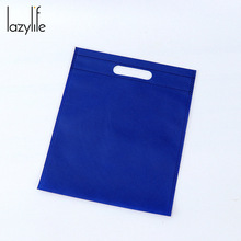 LAZYLIFE 20pcs Wholesale Eco Shopping Bag Reusable Cloth Fabric Grocery Packing Recyclable Hight Design Healthy Tote Handbag(China)