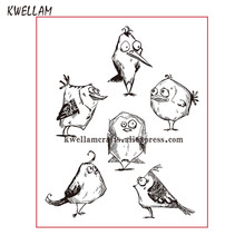Bird Scrapbook DIY photo cards rubber stamp clear stamp transparent stamp 11x14cm KW7121514(China)