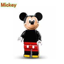 Mickey Mouse DIY blocks Single Sale Daisy Cartoon Cute Animal Building Blocks & Models Animal Toys For Children D892