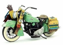 Brand New Motorbike Model Toys USA 1953 Indian Style Motorcycle Handmade Metal Artefact Model Toy For Gift/Kids/Collection