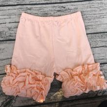 standard thickness childrens shorts summer new design kids baby girls icing  shorts