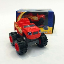 New Blaze Monster Machines Toys Vehicle Car Transformation With Original Box Best Gifts For Kids Free Shipping New