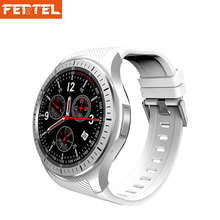 "FERTEL Smart Watch Mobile Phone DM368 Android5.1 3G WristWatch 1.39"" AMOLED Display Quad Core GPS WIFI Heart Rate for man woman(China)"