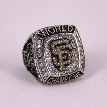 USA size 9 to 14! MLB 2012 San Francisco Giants Baseball world championship ring replica POSEY solid ring  drop shipping