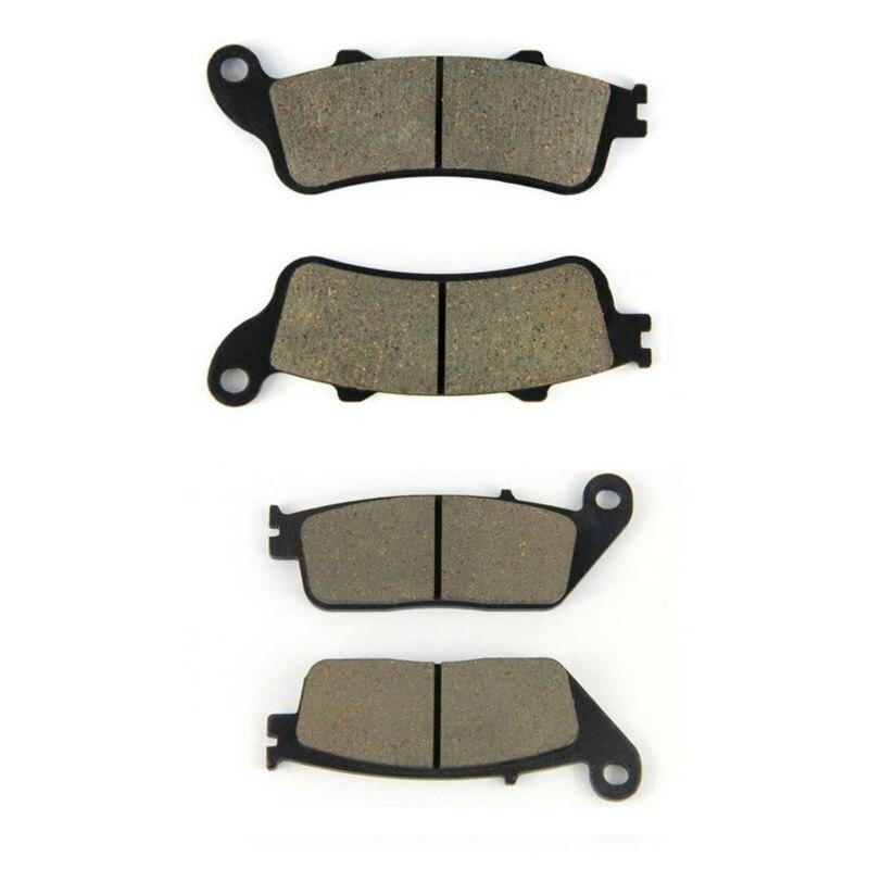 1991-2006 SOMMET Motorcycle Rear Brake Pads Disc 1 pair for Honda CBR 600 F2//F3//SJR//SE//F4//F4i Sport