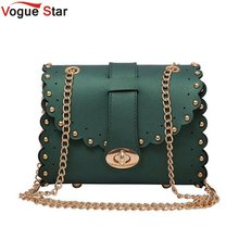 Buy Vogue Star Mini Women Messenger Bags Pu leather Women Shoulder Bag Ladies Small Clutches Chain Women Crossbody Bags Tote LB198 for $9.99 in AliExpress store