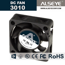 ALSEYE 3010SVH-N1 Mini cooling radiator DC fan 30mm 12v 0.32A 10000RPM sleeve bearing computer cooling fan cooler(China)