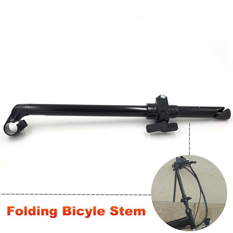 Adjustable 20 inch Bike Folding Stem Fork Clamp Diameter 25.4mm  Bicycle Stem Extension Riser Tube Bar Handlebar Stem <br>