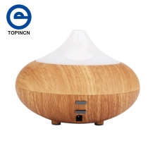 1Pcs LED Mini Ultrasonic Humidifier Perfume Aroma Essential Oil Diffuser Electric Incense Burners Aroma Diffuser Home Decor(China)