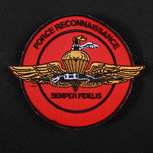 "TSNK Military Enthusiasts Embroidery Patch Army Tactical Badge ""FR/AIRFORCE"""