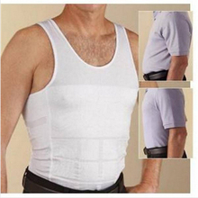 Body shaper slimming corset men shapewear tights gaine amincissante undershirts fitness shirts weight lifting vest