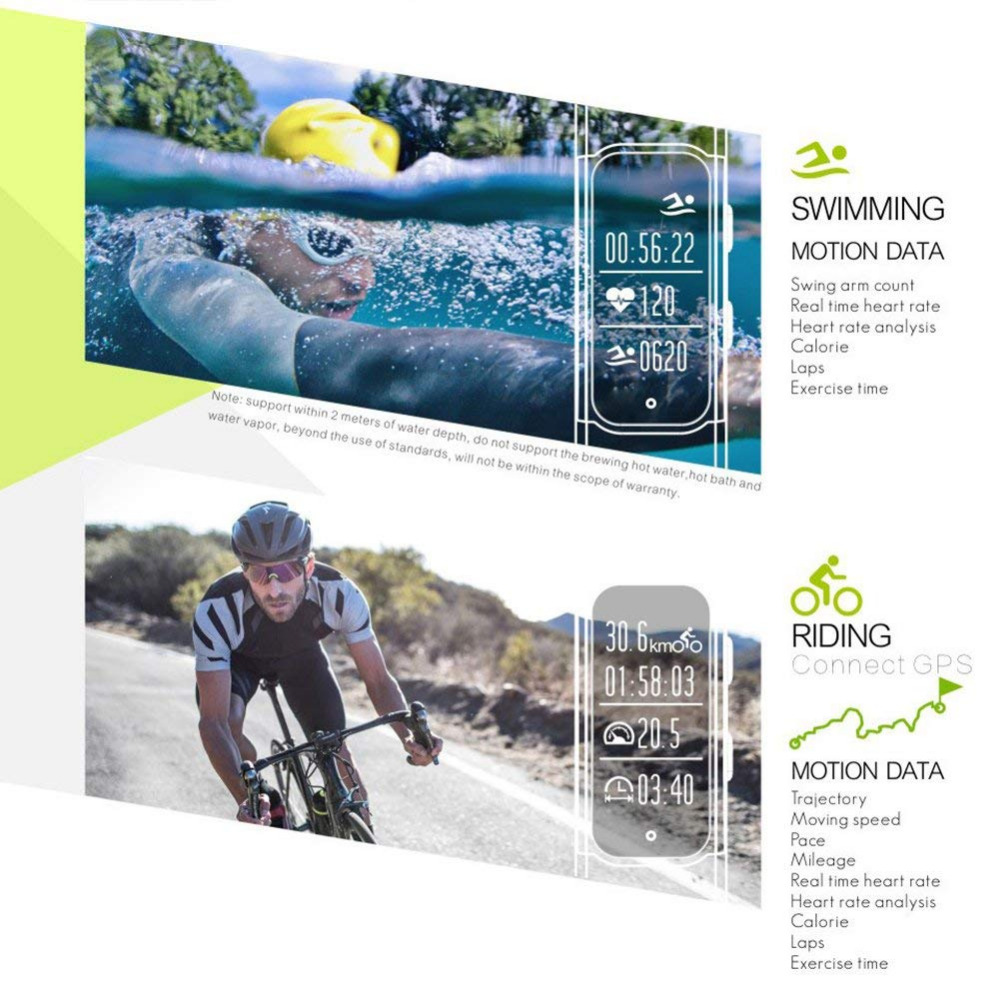 Smartwatch GPS IP68 Waterproof Wristband (17)