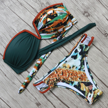 Sexy Bikinis Women Set Summer Style Beach Bathing Suits Push Up Bandage Swimwear Women Brazilian Swimsuits Biquini Feminino 2017(China)
